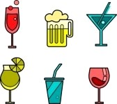 7527210-set-of-six-drink-and-glasses-icon-variations