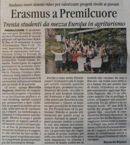 la Stampa - Corriere di Romagna 15/09/15